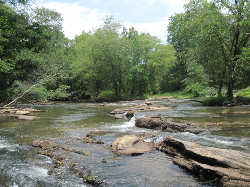Enoree River at Horseshoe Falls River Access (Credit: Upstate Forever)