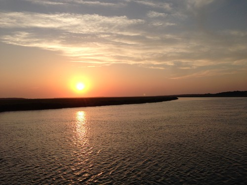 Sunset on Big Bay Creek, Edisto Island (Credit: Tanner Arrington)