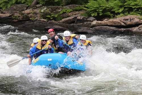 Rafting the Chattooga River (Credit: Whetstone Photo & Wildwater Adventure)