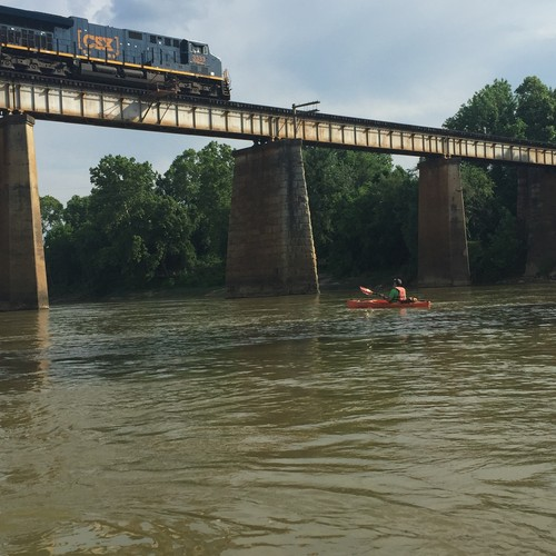 Railroad Bridge near Columbia (Credit: Susan Arrington)
