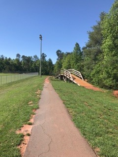 entrance to Town Creek Park at Recreation Center (Credit: Upstate Forever)