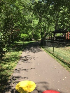 paved walking trail at Town Creek Park (Credit: Upstate Forever)