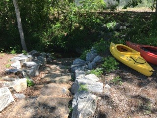 river access at Town Creek Park (Credit: Upstate Forever)