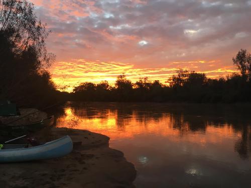Congaree River Sunrise (Credit: TA)
