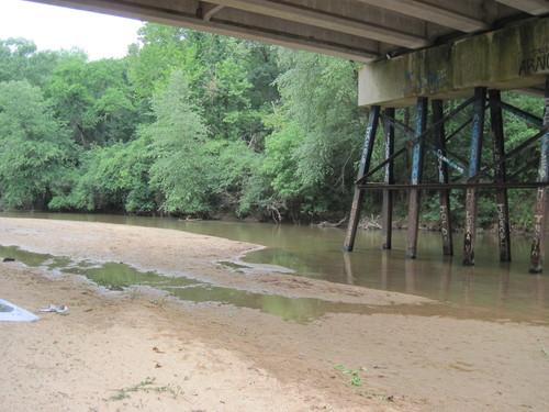 Below Kilgore Bridge Road (Credit: Upstate Forever)