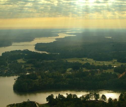 Aerial image of Lake Greenwood (Credit: Ben Geer Keys)