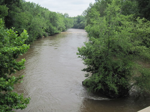 Saluda River at Maddox Bridge Road (Credit: Upstate Forever)