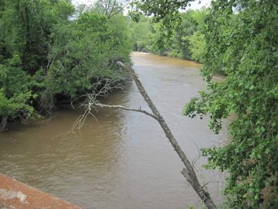 Saluda River at Maddox Bridge Road (Credit: Upstate Forever)