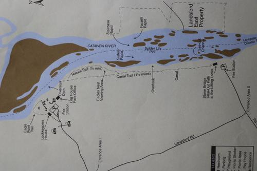 Map of park showing lily route. (Credit: pcumalander-frick)