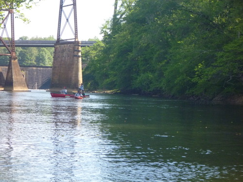Saluda River below Saluda Dam (Credit: Upstate Forever)