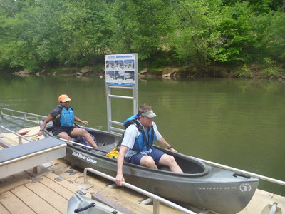 ADA Kayak Launch at Dolly Cooper Park (Credit: Upstate Forever)