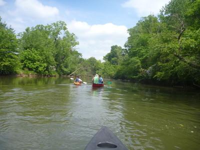 Saluda River below Dolly Cooper Park (Credit: Upstate Forever)