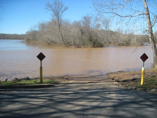 Take Out at Pick Hill River Access