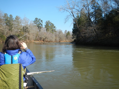 Saluda River below Holliday Dam (Credit: Upstate Forever)