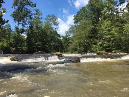 Twelve Mile River between Liberty Hwy and Norris Hwy