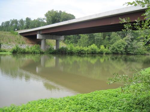 Enoree River at Union Highway (Credit: Upstate Forever)