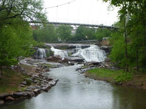 Reedy Falls in Downtown Greenville, SC