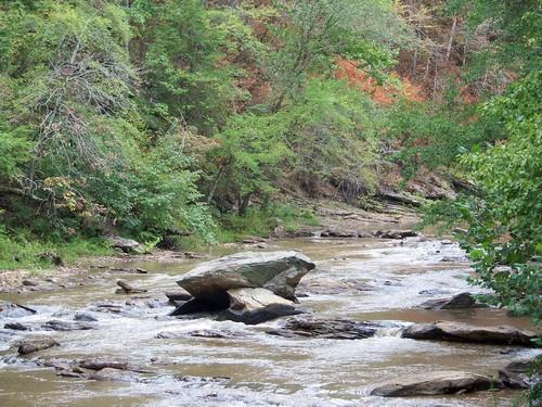 Toad Rock on Twelve Mile River