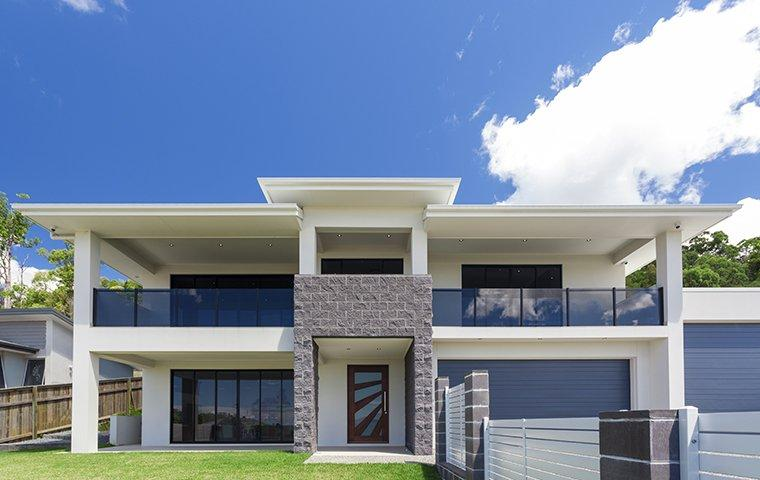 street view of a modern home in citrus heights california