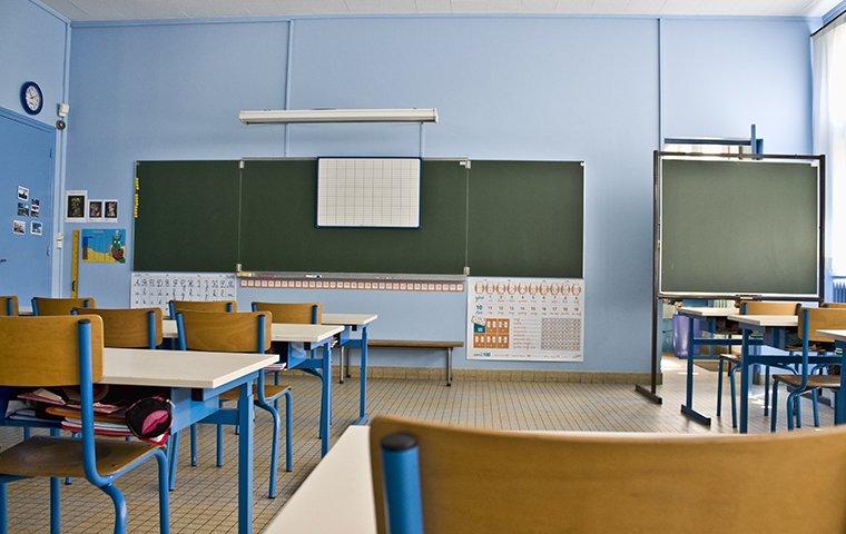 the interior of a classroom in rancho cucamonga california