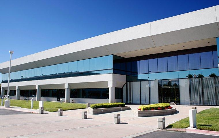 the exterior of a commercial office building in murrieta california