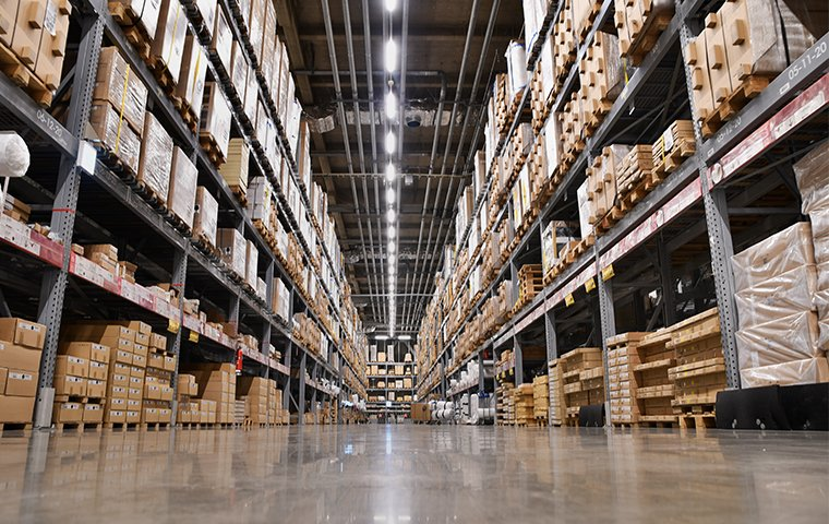 the interior of a warehouse in murrieta california