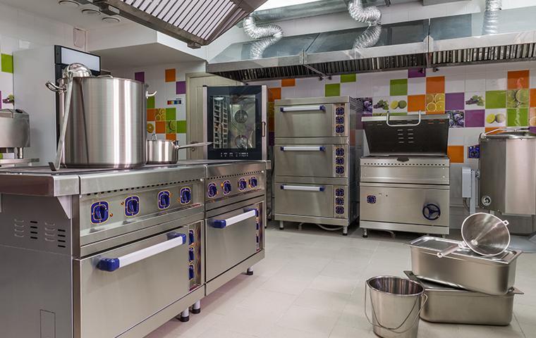 industrial restaurant kitchen in bethesda maryland