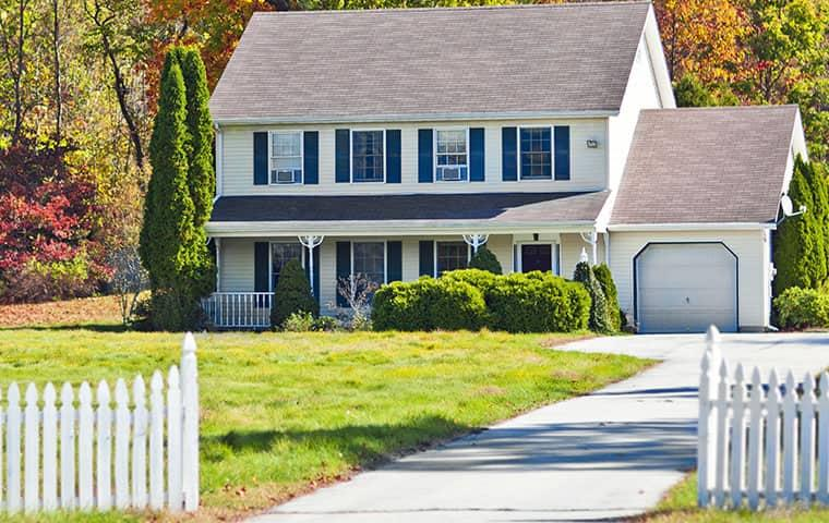 street view of a suburban home in germantown maryland