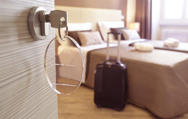 interior of a hotel room in washington dc