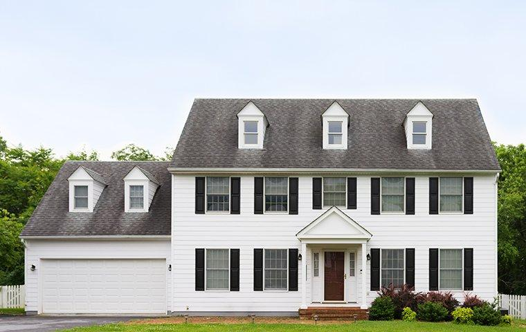 street view of a home in olney maryland