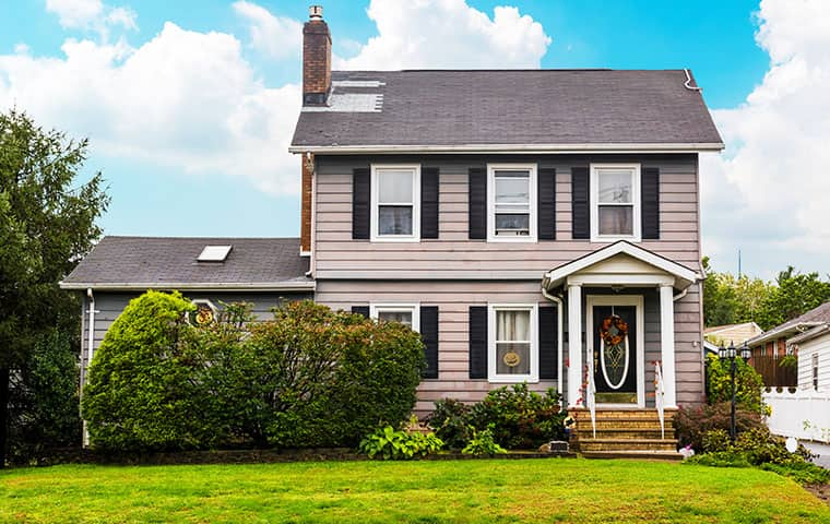 street view of a home serviced by heritage pest control in caldwell new jersey