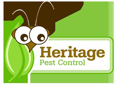 heritage pest control logo