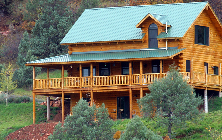 exterior view of a home serviced by ram wildlife and pest management in aspen colorado