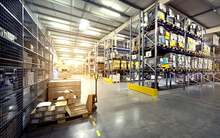 the interior of a warehouse in chacra colorado
