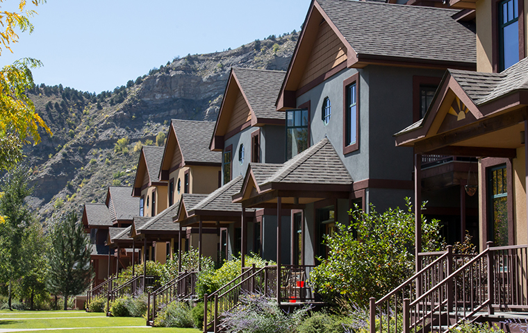 street view of a residential neighborhood serviced by ram wildlife and pest management in vail colorado