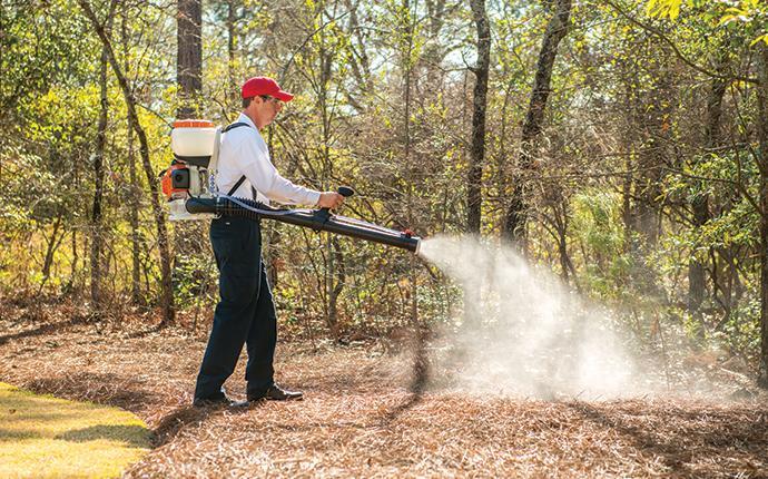 aiken tech treating backyard for mosquitoes