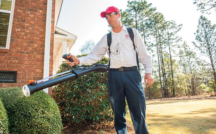 aiken tech treating shrubs for mosquitoes