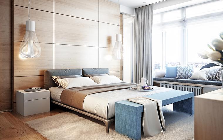 a really nice hotel room