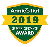 super service award from Angie's List