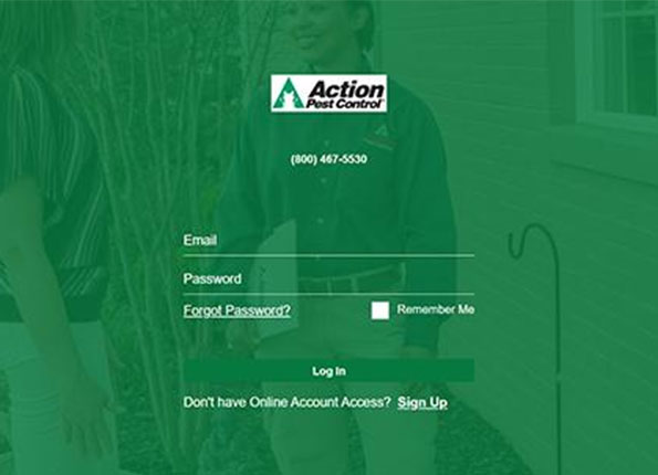 action customer portal