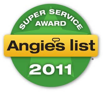 Angie's List 2011 Super Service Award