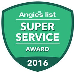 super service award from angies list