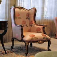 antique chair in an indianapolis home
