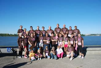 Susan G. Komen Race for the Cure Team Picture