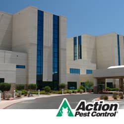 image of a building that has recently had fumigation service