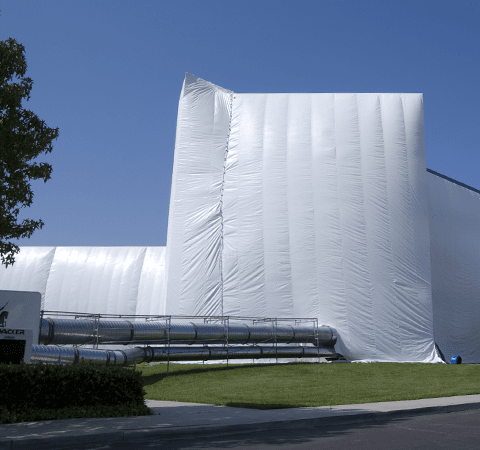 indianapolis home being fumigated