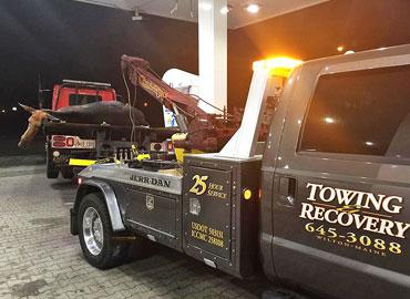 Collins Enterprises tow truck