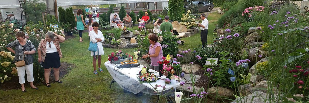 Events and Custom Classes at Robin's Flower Pot