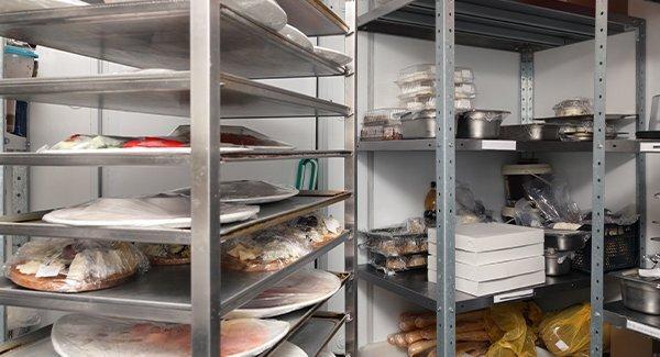 restaurant food storage