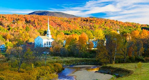 fall scenery in vermont